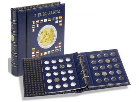 VISTA eiro monētu albums 2 Euro