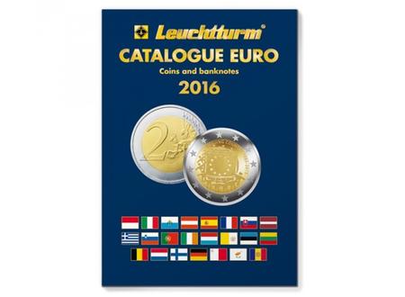 Katalogs Eiro monētas un banknotes 2016